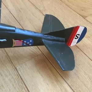 Homegoods Accents - Retro Airplane Vintage Model